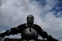 Sobotní bitva u Jemnice byla připomínkou roku 1468, kdy vojsko Matyáše Korvína vypálilo město a vraždilo jemnické obyvatele.