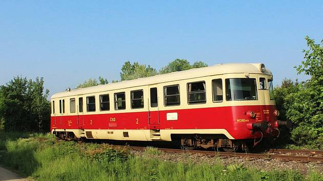 """""""Singrovka je takový železniční poklad, který je nyní nasazený na jemnické trati,"""" popsal Martin Kouřil."""