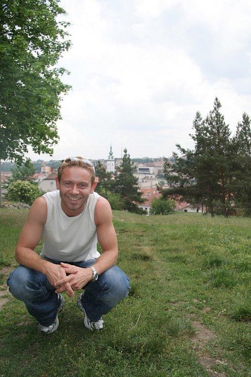 Jaroslav Šmíd na třebíčské Barborce v roce 2007.