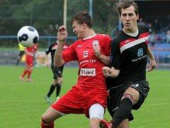 Fotbalisté Třebíče ukázali v přípravném utkání s Vrchovinou nebývalou produktivitu.