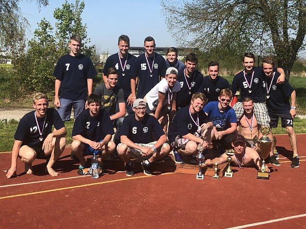 Třebíčští středoškoláci mají zlato z mistrovství republiky v požárním sportu