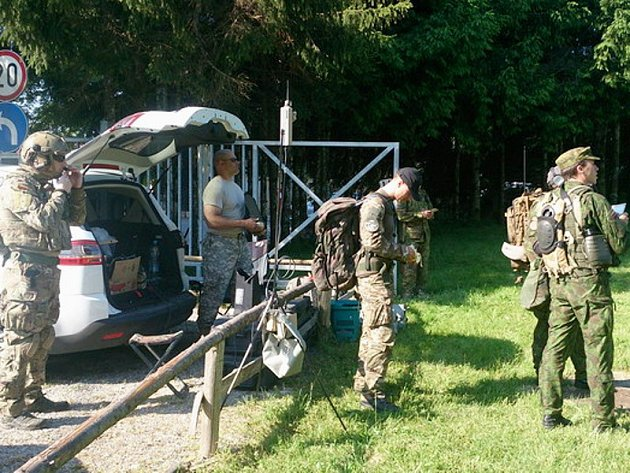Test spolupráce ozbrojených sil čtrnácti zemí pod názvem Adriatic Strike 2015 se uskutečnil na území Slovinska.