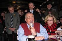 V třebíčském Lihovaru se o víkendu konala akce Na pivo s Karlem.