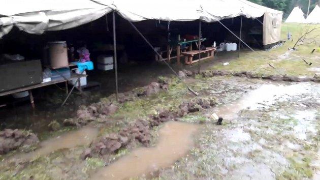 Silné a vytrvalé deště trápily Vysočinu