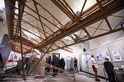Slavnostní zahájení výstavy Vzduch je naše moře aneb 100 let historie letectví na Třebíčsku.