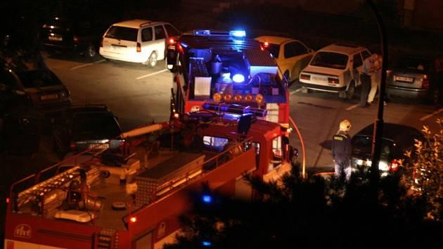 Hasiči zasahovali u požáru kontejnerů na Vysočině hned třikrát.