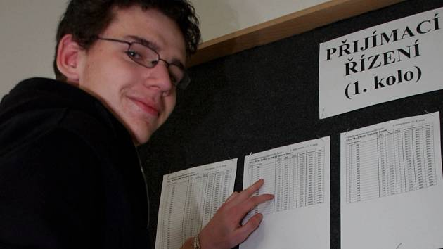 Přjímací zkoušky na střední školy