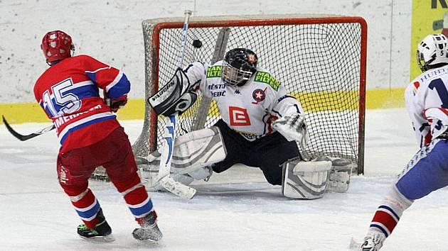Třebíčští junioři po domácí porážce s Českými Budějovicemi ztratili naději na postup do extraligy.