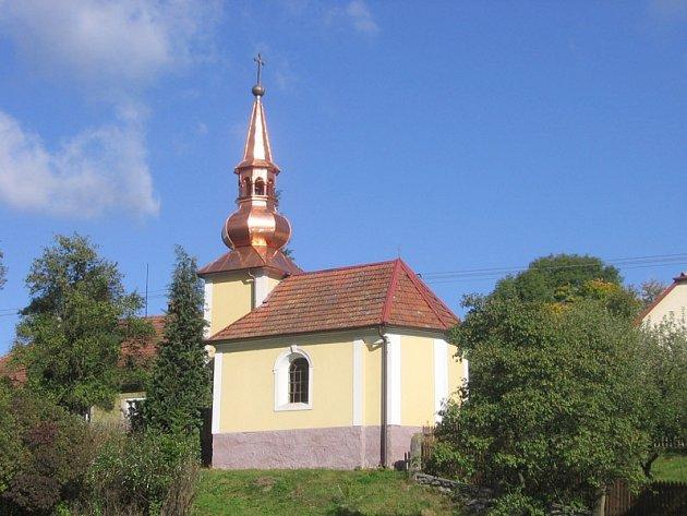 Kaple v obci Rohy