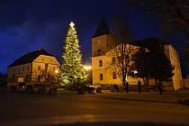 Rozsvícení vánočního stromu v Mohelně