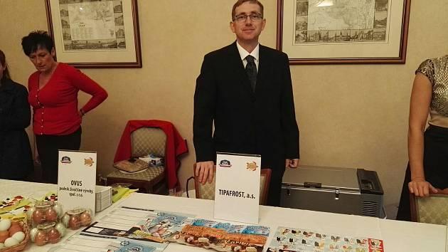 Ocenění pro Tipafrost převzal výrobní ředitel Miroslav Krupica.