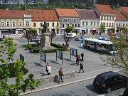 Karlovo náměstí v Třebíči.