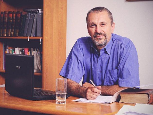 Kandidát do Senátu Michal Šalomoun.