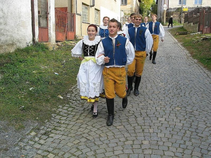 Hody mají v Bystřici dlouholetou tradici. Foto:Deník/archiv