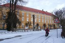 Stavba tvrze je na území Lesonic doložená již roku 1225. Ve 2. polovině 16. století nechali páni z Čechtína středověkou tvrz přestavět na renesanční zámek. Ten byl kolem roku 1830 zbourán a na jeho místě vyrostly dvě budovy nového klasicistního zámku.