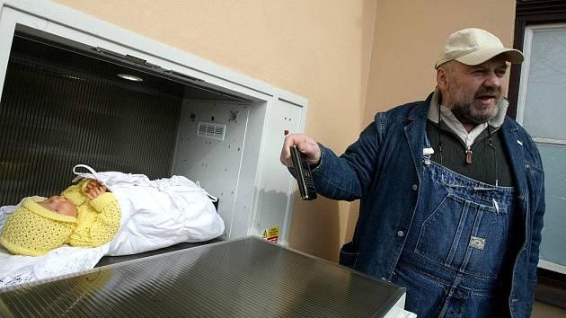 V babyboxu třebíčské nemocnice našli holčičku