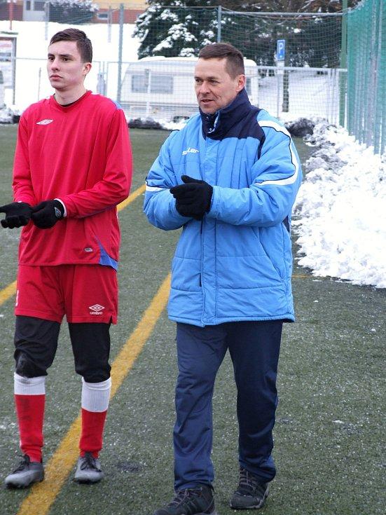 Utkání Třebíče a béčka Velkého Meziříčí nabídlo přehlídku mladých fotbalistů, ve které se střelecky více dařilo domácím.