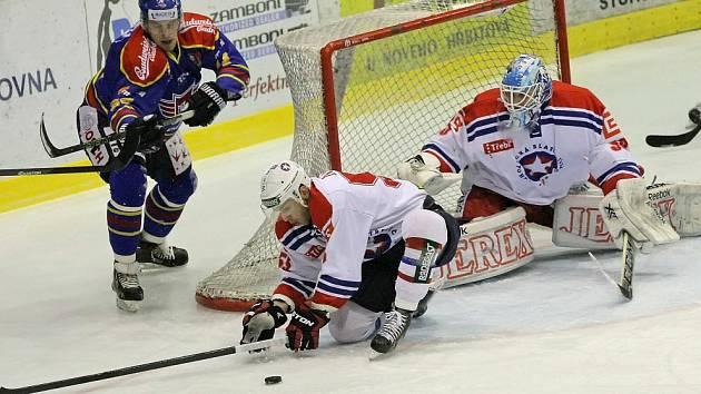 Třebíčští hokejisté ve třetí třetině zkolabovali