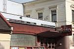 Kino v Sadílkově vile v Novém Městě na Moravě.