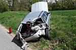 Na železničním přejezdu v Kralicích nad Oslavou se srazil vlak s autem. Nehoda se stala ve čtvrtek o tři čtvrtě na dvanáct dopoledne.