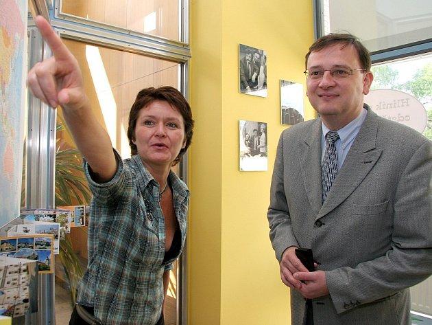 V nejhorším stavu je domov důchodců ve Velkém Meziříčí na Třebíčsku, který si dnes s krajskou delegací prohlédl i ministr sociálních věcí Petr Nečas.