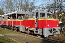 Výletní vlak.
