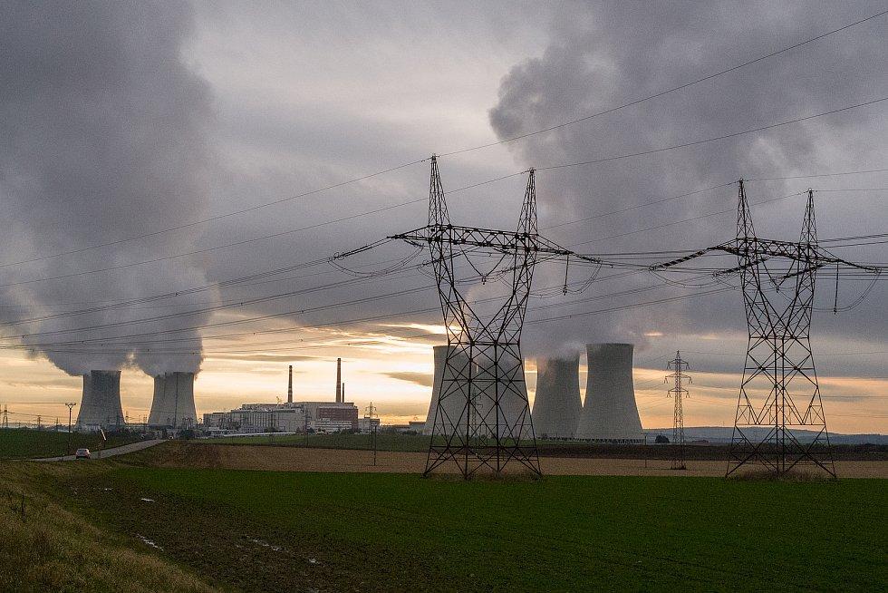 Jadernou elektrárnu Dukovany v loňském roce provázely delší odstávky. Ta poslední by měla skončit n začátku ledna.
