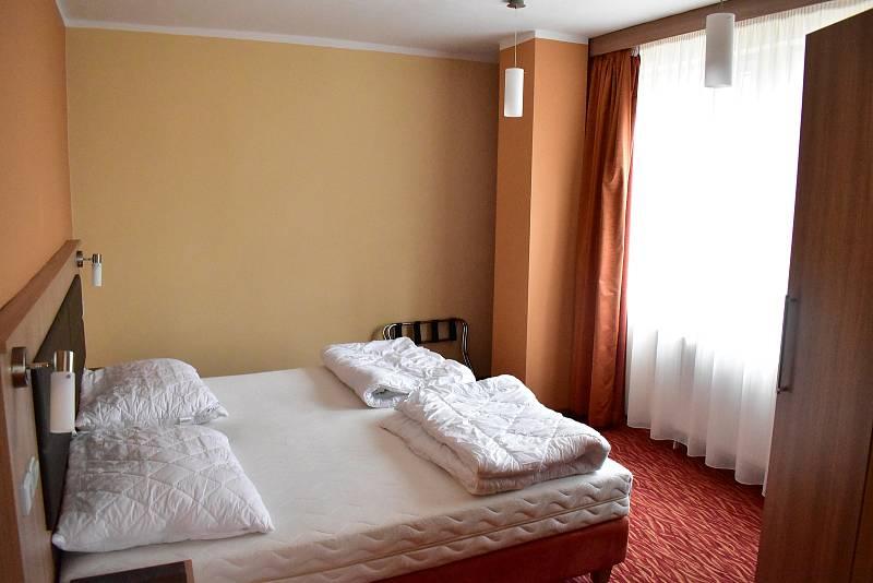 Pokoje jsou ve velmi dobrém stavu.