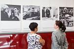 Výstava fotografií Olga Havlová a Výbor dobré vůle.