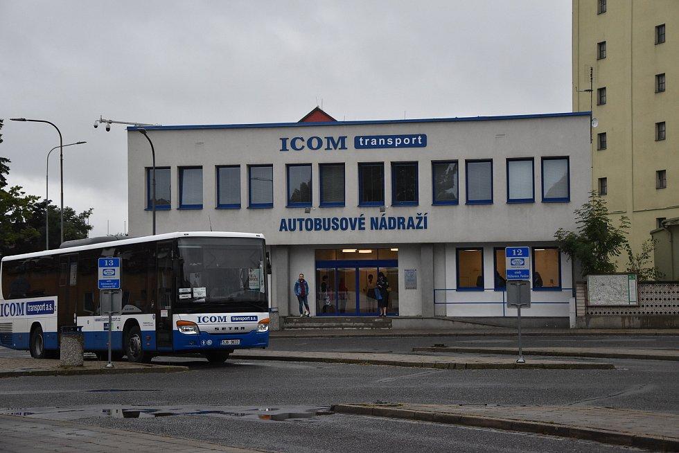 V příštím roce chce společnost Icom začít s rekonstrukcí nástupišť a venkovního areálu autobusového nádraží