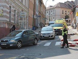 Zavřela další ulice v Třebíči. A centrum je chvílemi blízko kolapsu