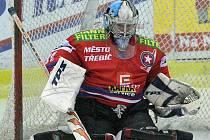 Filip Luňák v bráně