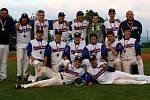 Tým starších kadetů do šestnácti let klubu Třebíč Nuclears vybojoval bronzové medaile na Mistrovství České republiky v baseballu.