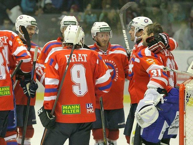Třebíčští hokejisté prožili vloni vynikající sezonu, kterou korunovali ziskem prvoligového bronzu. Do nového soutěžního ročníku ale vstupují se skromnějšími ambicemi.