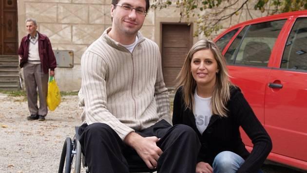 TOMÁŠ ZELENKA. Záštitu nad čtvrtým ročníkem akce s názvem Třebíčské památky UNESCO se opět otevírají handicapovaným převzal Tomáš Zelenka.