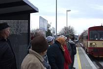 Poslední úplně novou realizovanou vlakovou zastávkou na Třebíčsku zůstávají Bohušice.