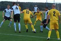 Bezbrankovou remízou skončil zápas v Budišově, kam zavítala Černíč.