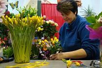 Nedělní Mezinárodní den žen pocítilo na zvýšeném zájmu i třebíčské Květinářství u Madly.