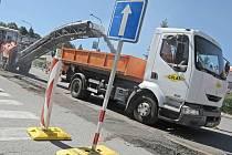 V Třebíči se opravuje několik silnic.