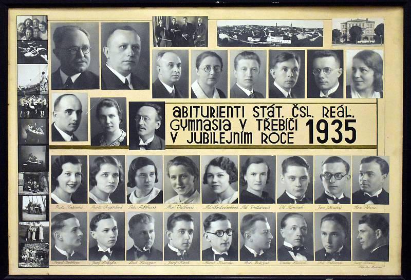 Absolventi gymnázia v roce 1935
