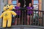 Regionální olympiáda dětí a mládeže začala v úterý v podvečer v Náměšti nad Oslavou.