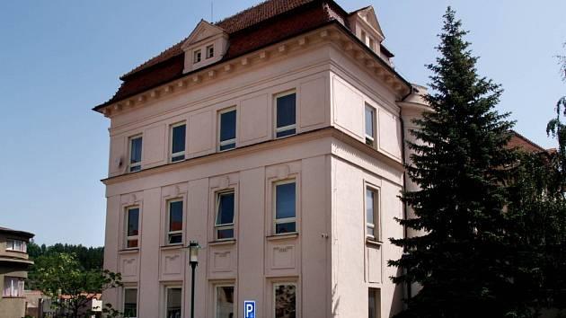 Budova městského úřadu v Třebíči.