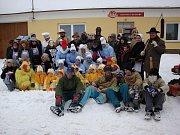 MASOPUST. Masopust ve Výčapech 2010. Tradiční a oblíbené  akce místních hasičů se letos zúčastnila stovka masek.
