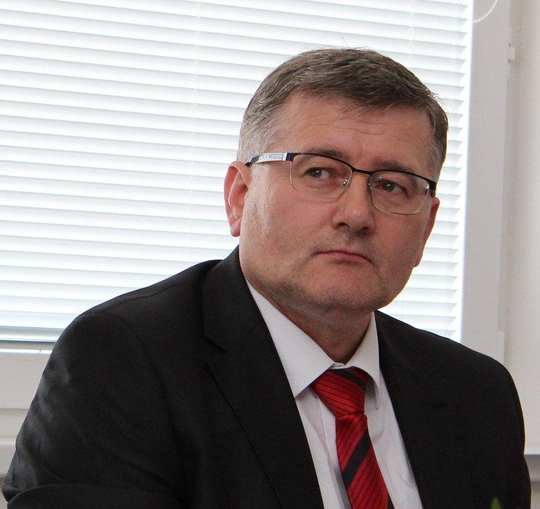 Stanislav Veselý, generální ředitel  Milacron Šašovice.