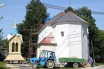 Obec kostel na osm let pronajala od římskokatolické církve, aby jej mohla opravit a žádat dotaci. Tu nakonec získala ve výši 1,1 milionu korun. Biskupství brněnské ale s původním plánem na zvýšení zdí věže nesouhlasilo.