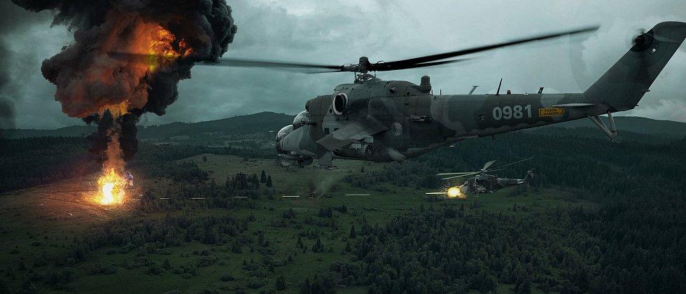 Když se vojáci na zemi dostanou pod palbu nepřítele, nastupuje jejich letecký návodčí. Zavolá podporu ze vzduchu a piloti pak s chirurgickou přesností ničí pozice nepřítele. A přesně to je hlavním úkolem vojenského cvičení Ample Strike.