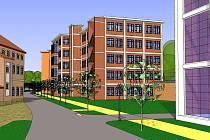 Nová městská čtvrť. Spousta zeleně a citlivý architektonický přístup jsou na první pohled patrné z pohledu na studie nové městské čtvrti v Třebíči. Stará továrna v Borovině přestane chátrat a ožije běžným životem.