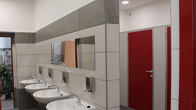 Nové veřejné záchodky v centru Třebíče