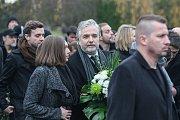 Poslední rozloučení s hercem Jaroslavem Šmídem, známého například z komedie Doktor od jezera hrochů režiséra Zdeňka Trošky.
