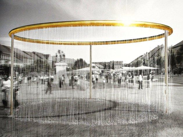 Vítězem se stal atelier H3T architekti s originálním zlatým prstencem.